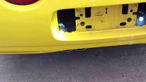 C5 Corvette Led Reverse Lights C5 Corvette Reverse Lights Replaced