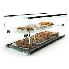 sayl ads0036 ambient display two tier countertop case