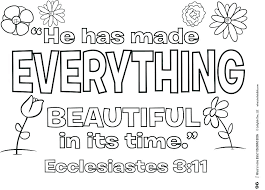 Coloring Pages John 3 16 Coloring Page With Christian Quotes Pages