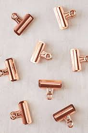 Picture Clips Magnificent Copper Bulldog Clips Set Urban Outfitters  Decorating Design
