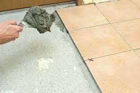 how to lay tile on concrete laying tile on concrete how to tile a concrete floor