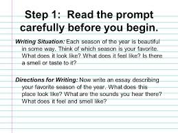 descriptive writing essay ppt video online  descriptive writing essay 2 · 3 step