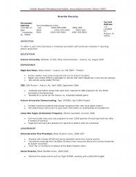 28 Print Journalist Resume Sample News Reporter Curriculum Vitae