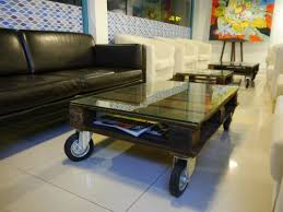 table recycled materials. Catch 22 RESTAURANT: Coffee Table Made By Recycled Materials