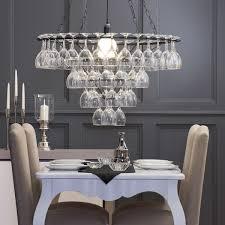 5 beautiful wine glass light fittings