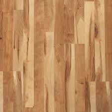 style selections natural maple 8 07 in w x 3 97 ft l smooth wood plank laminate flooring