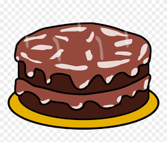 Cake Chocolate Frosting Birthday Cake Clip Art Png Download