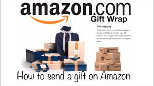 amazon gift wrap option i how to send a gift on amazon i gift wrap review