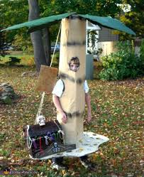 palm tree treasure chest costume