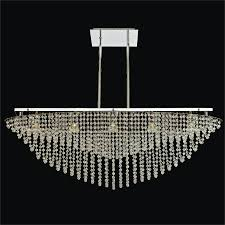 lunar eclipse glow crystal chandelier flush mount 584bm5lsp 3c