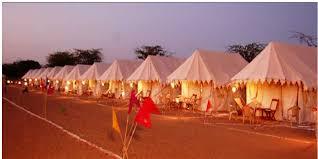 Luxury camping in Jaisalmer