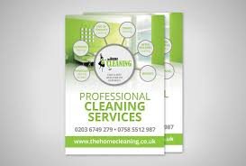 cleaning company flyer design flyer design for the home cleaning service