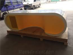 yellow office worktop marble office furniture corian. Yellow Office Worktop Marble Furniture Corian