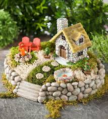 With a beautiful, heart-warming tone, This miniature fairy garden comes  with an adorable miniature cottage, fish pond, stepping-stones, fire pit  and of ...