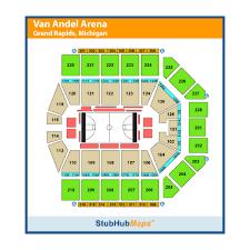 Van Andel Seating Chart Van Andel Arena Events And Concerts In Grand Rapids Van