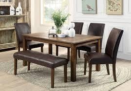 Holz Esstisch Und Stühlen Schwarz Esstisch Esszimmer Sets Mit Bank