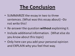 Conclusion In Essay Writing The Body Of An Assignment University Of Warwick Writing A