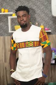 Kente Shirt Designs African Mens Kente And White Cotton Short Sleeve Shirt