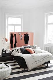 Apartments  pink, black, white, room ...
