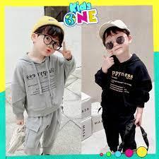 Bộ Quần Áo Nỉ Thời Trang Hoodie HP Cho Bé Trai Và Bé Gái Size 8-25kg  KidsOne BN02 giá cạnh tranh