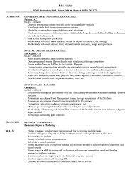 Event Manager Resume Samples Events Sales Manager Resume Samples Velvet Jobs