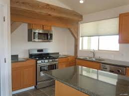 Types Of Flooring For Kitchens Kitchen Cabinets L Shaped Kitchen With White Appliances Combined