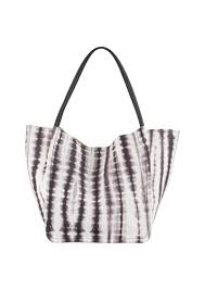 proenza schouler 15th anniversary large tie dye leather tote bag