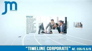 corporate timeline after effects template facebook legends