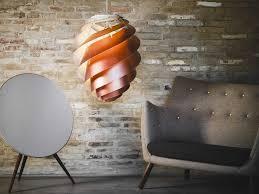Koper Kleurige Hanglampen Deens Design