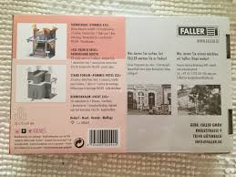 Faller H0 140444 Kit Fair Booth French Fries Xxl For Sale Online Ebay