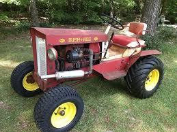 bush hog garden tractors