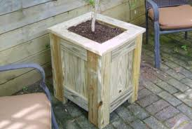 free pressure treated planter box plans woodwork city free woodworking plans