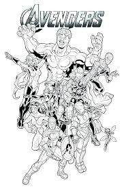 Avengers Printable Coloring Pages Avengers Coloring Pages Avengers
