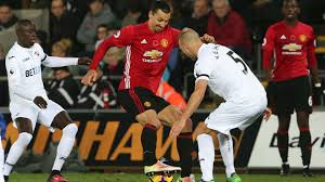 Man city have doubts over kyle walker and sergio aguero, while kevin de bruyne and nathan ake are expected to remain sidelined by injury. Swansea City 1 3 Manchester United Zlatan At The Double As Red Devils Take Win Goal Com