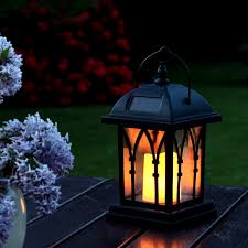 decorative solar lighting. Decorative Solar Lamp - IP44 Rating · 600mAh Lighting