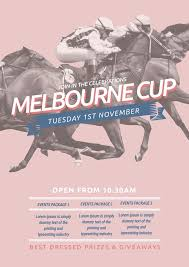celebrate melbourne cup spring racing this year with this free template for your event