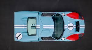 Ford trounced the frontrunner ferrari as all three ford cars crossed the finish line in a dead heat. Replica Ford Gt40 Used In Ford V Ferrari Movie To Roll Across Auction Block