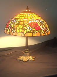 Wrc Selling Raffle Tickets For Handmade Stained Glass Lamp To