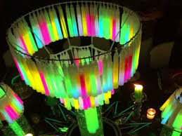 glow in the dark neon party