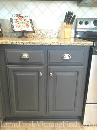 Gray Painted Kitchen Cabinets Kitchen General Finishes Milk Paint Kitchen Cabinets With