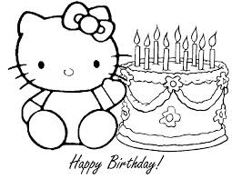 Small Picture Download Coloring Pages Birthday Cake Coloring Page Birthday