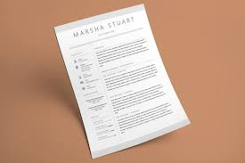 Minimalist Resume Template Minimalist Resume Template By The Template Cafe TheHungryJPEG 24