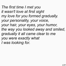 Sweet Love Quotes For Him Gorgeous Quotes About Love For Him I've Known Him For Four Years But It