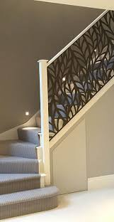 Miles and Lincoln | Laser cut screens, laser cut panels | Gallery   Staircase IdeasHandrail ...