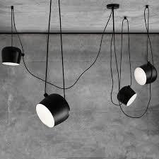 Drum pendant lighting fixtures Silver Nordic Pendant Lights Led Drum Pendant Lamp Fixture Black Aluminum Suspension For Kitchen Home Lighting Hanging Lamp Aliexpress Nordic Pendant Lights Led Drum Pendant Lamp Fixture Black Aluminum