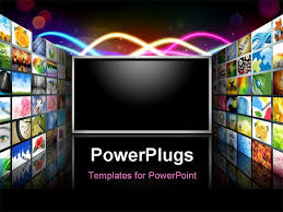 tv powerpoint templates 9 best photos of television powerpoint template free powerpoint