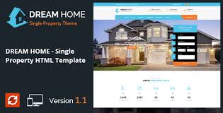 Real Estate Website Templates Mesmerizing DREAM HOME Single Property Real Estate HTML Template By Templatepath