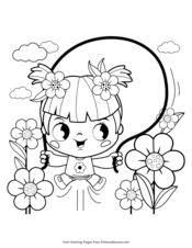 You can print or color them online at getdrawings.com for absolutely free. Spring Coloring Pages Free Printable Pdf From Primarygames