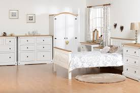 Pine And White Bedroom Furniture Bryson Furnishings
