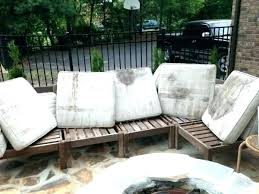 all weather wicker square arm occasional chair gray inside pottery barn outdoor furniture
